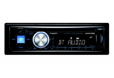 Alpine - CDE-SXM145BT - Car Stereos - Single Din
