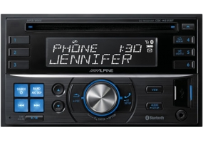 Alpine - CDE-W235BT - Car Stereos - Double Din