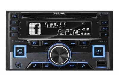 Alpine - CDE-W265BT - Car Stereos - Double DIN