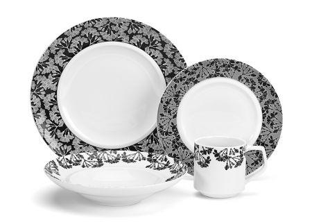 Cuisinart 16 Piece Juine Collection Porcelain Dinnerware Set - CDP01-S4JO