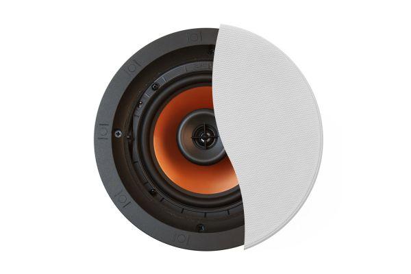 "Large image of Klipsch 6.5"" White Pivoting In-Ceiling Speaker (Each) - CDT3650CII"