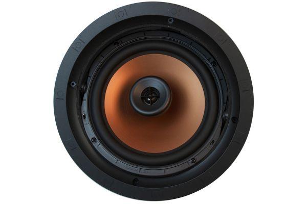 """Large image of Klipsch 8"""" Black Two-Way Pivoting In-Ceiling Loudspeaker (Each) - CDT5800CII"""