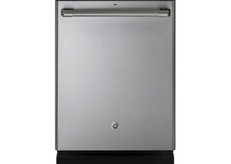"GE Cafe 24"" Stainless Steel Built-In Dishwasher - CDT835SSJSS"
