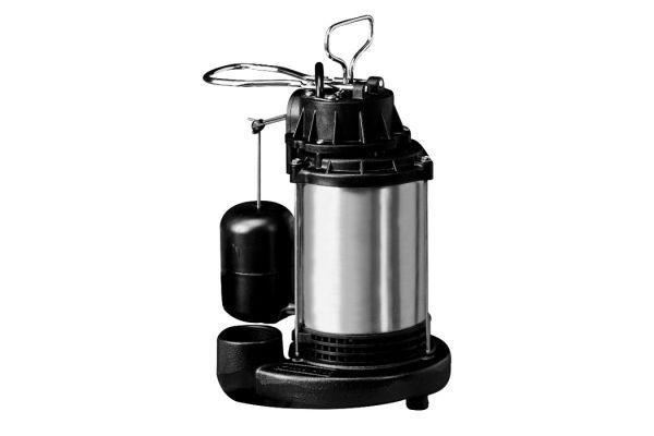 Large image of Wayne 3/4 HP Stainless Float Switch Sump Pump - CDU980E