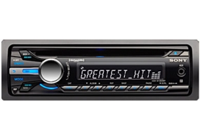 Sony - CDX-GT360MP - Car Stereos - Single Din