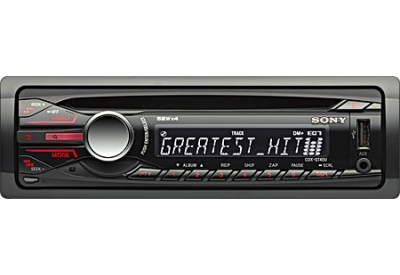 Sony - CDX-GT40U - Car Stereos - Single DIN
