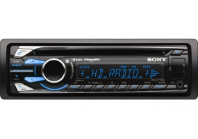 Sony - CDXGT710HD - Car Stereos - Single Din