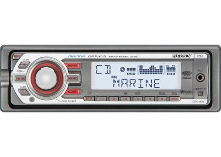 Sony - CDX-M30 - Marine Radio