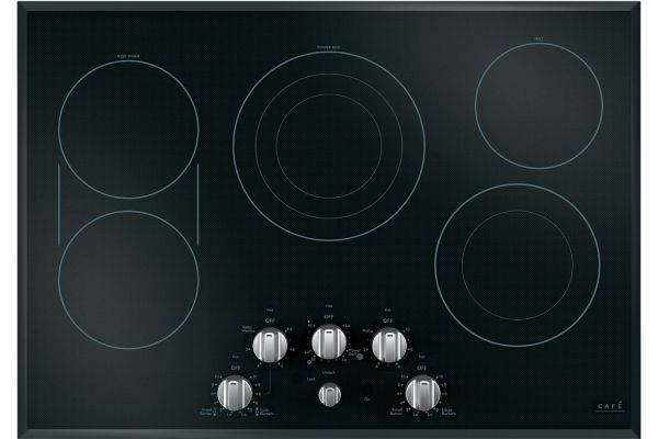 """Cafe 30"""" Stainless Steel Electric Cooktop - CEP70302MS1"""