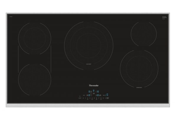 """Large image of Thermador 36"""" Masterpiece Series Electric Cooktop - CET366TB"""