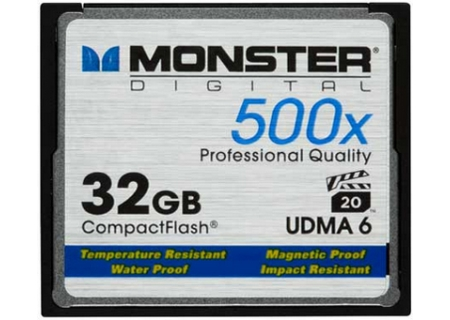 Monster - CFA-0032-605 - Memory Cards