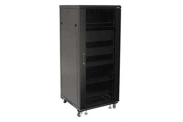 "Sanus 55"" Foundations Component Series Black AV Rack - CFR2127"
