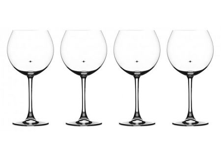Cuisinart Stars The Limit Collection 4-Piece Burgundy Wine Glass Set - CG-01-S4BU
