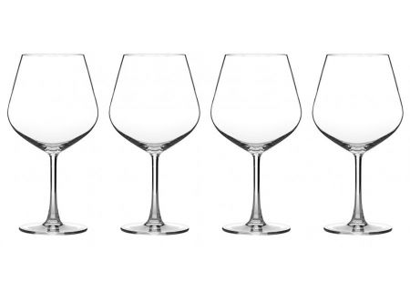 Cuisinart Classic Collection 4-Piece Burgundy Wine Glass Set - CG-02-S4BU