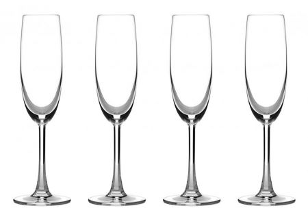 Cuisinart Classic Collection 4-Piece Champagne Flute Set - CG-02-S4CF