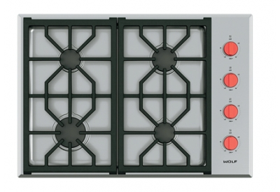 Wolf - CG304P/S - Gas Cooktops