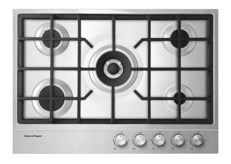 """Fisher & Paykel 30"""" Stainless Steel Gas Cooktop  - CG305DLPX1"""