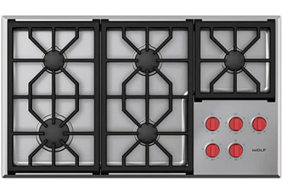 Wolf - CG365PS - Gas Cooktops