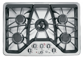 GE Cafe - CGP350SETSS - Gas Cooktops