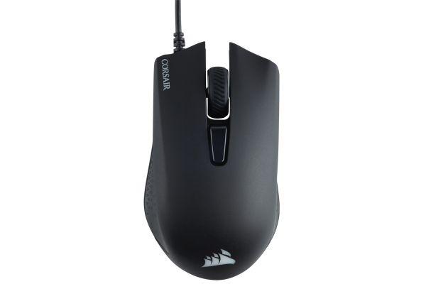 Large image of Corsair Black Harpoon RGB Gaming Mouse - CH-9301011-NA