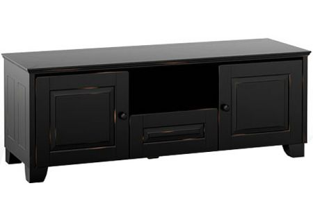 Salamander Designs Distressed Black TV Stand - CHA236DB