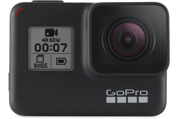 Large image of GoPro HERO7 Black 4K Ultra HD Camera - CHDHX-701