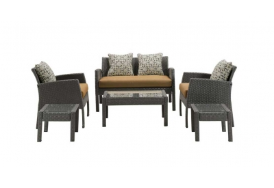 Hanover - CHEL-6PC-TAN - Patio Seating Sets