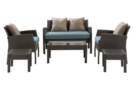 Hanover - CHEL-6PC-BLU - Patio Seating Sets