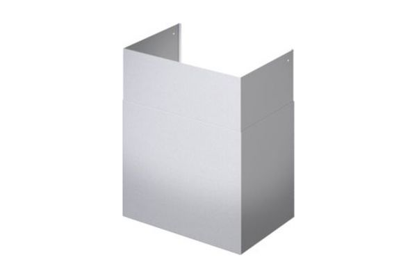 Large image of Thermador 36 Inch Wide Stainless Steel 42 x 59-Inch Telescoping Duct Cover - CHMHP36XTW