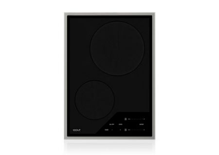 "Wolf 15"" Stainless Steel Electric Transitional Induction Cooktop - CI152TF/S"