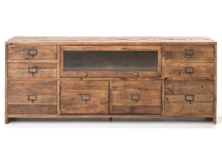 Four Hands Bleached Pine Hughes Media Console - CIMP-E5-BP