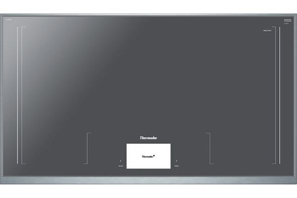 """Large image of Thermador 36"""" Masterpiece Series Stainless Steel Induction Cooktop - CIT36XWB"""