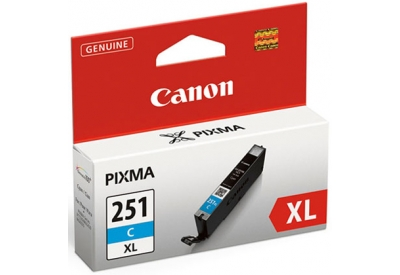 Canon - CLI251XLC - Printer Ink & Toner