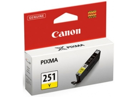 Canon - CLI251Y - Printer Ink & Toner