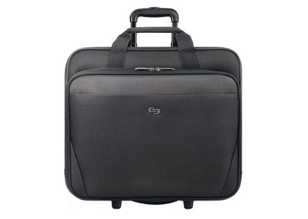"Solo Classic Collection Black 17.3"" Rolling Case - CLS910-4"