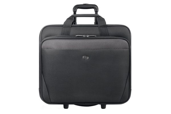 """Large image of Solo Classic Collection Black 17.3"""" Rolling Case - CLS910-4"""
