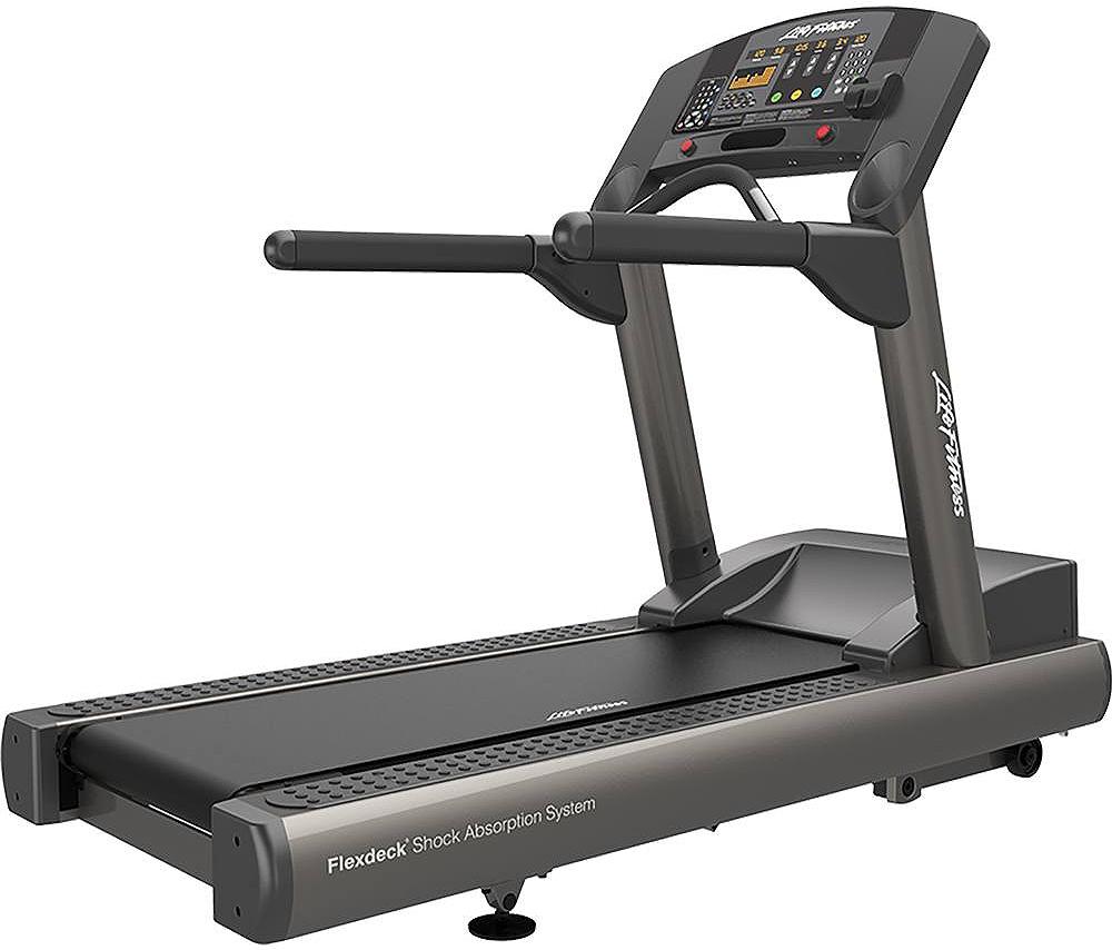 Worn Treadmill Deck: Life Fitness Integrity Series Treadmill