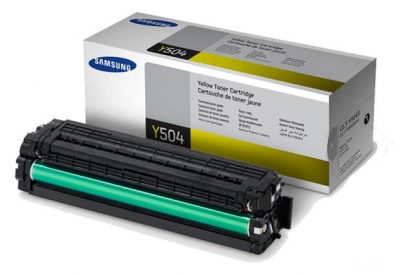 Samsung - CLT-Y504S - Printer Ink & Toner