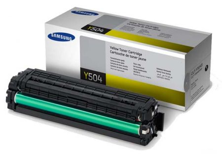 Samsung - CLT-Y504S - Printer Ink & Toner