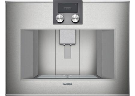 Gaggenau 400 Series  Stainless Steel Built-In Automatic Espresso Machine  - CM450710