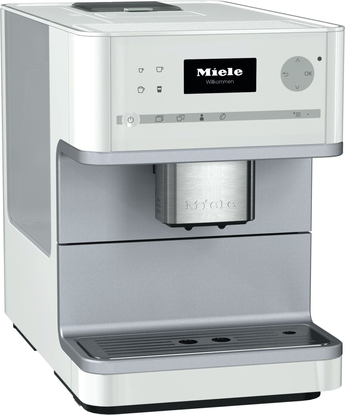 Miele White Countertop Coffee System Cm6110wh
