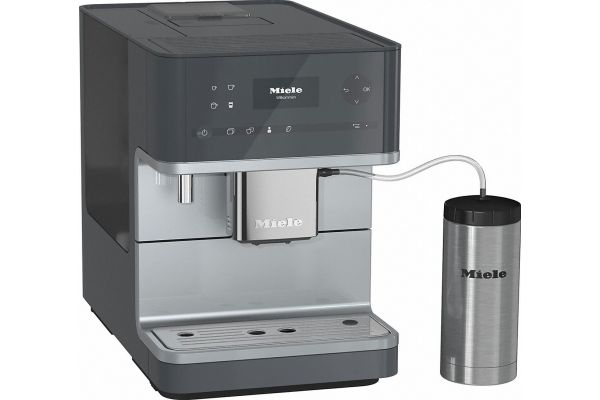 Large image of Miele Graphite Gray OneTouch Countertop Coffee System - 10731210
