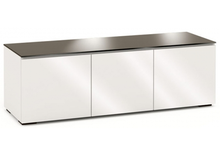Salamander Designs Gloss Warm White Chameleon Collection Miami 237 AV Cabinet - C/MM237/GW