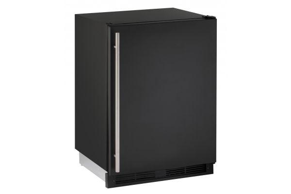 "Large image of U-Line 24"" Black Combo 1000 Series Compact Refrigerator - U-CO1224FB-00B"