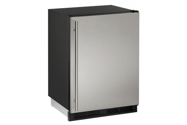 "U-Line 24"" Stainless Steel Combo 1000 Series Compact Refrigerator - U-CO1224FS-00B"