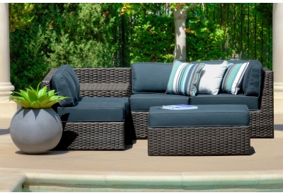 Parrot Island - COL-6SEC-AS-SD - Patio Seating Sets