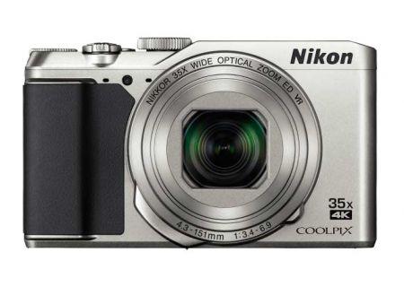 Nikon Coolpix A900 20.0 Megapixel Silver Digital Camera - 26505