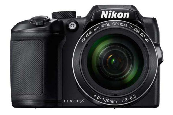 Large image of Nikon Coolpix B500 16.0 Megapixel Black Digital Camera - 26506