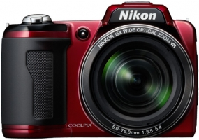 Nikon - COOLPIXL110R - Digital Cameras