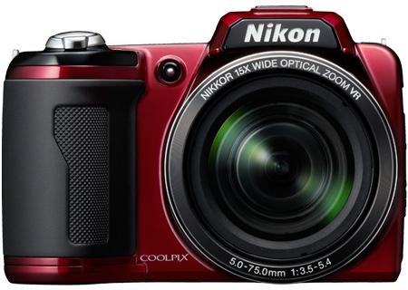 Nikon - COOLPIXL110R - Digital Cameras